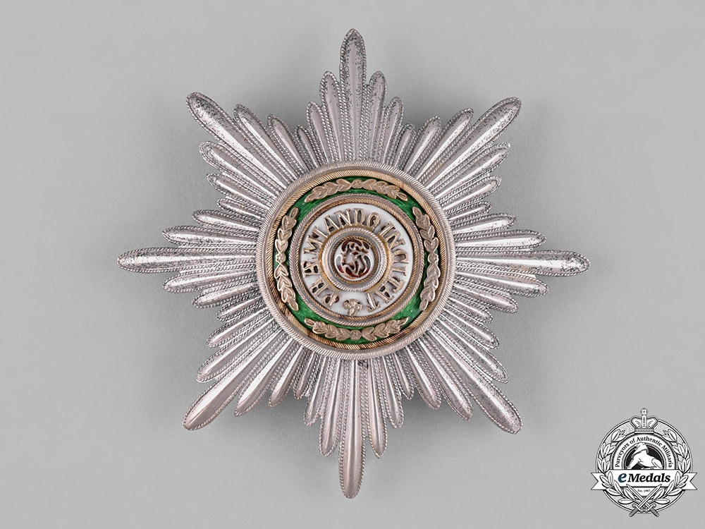 eMedals-Russia, Imperial. An Order of Saint Stanislaus, Grand Cross Star, by Eduard-VD, c.1900