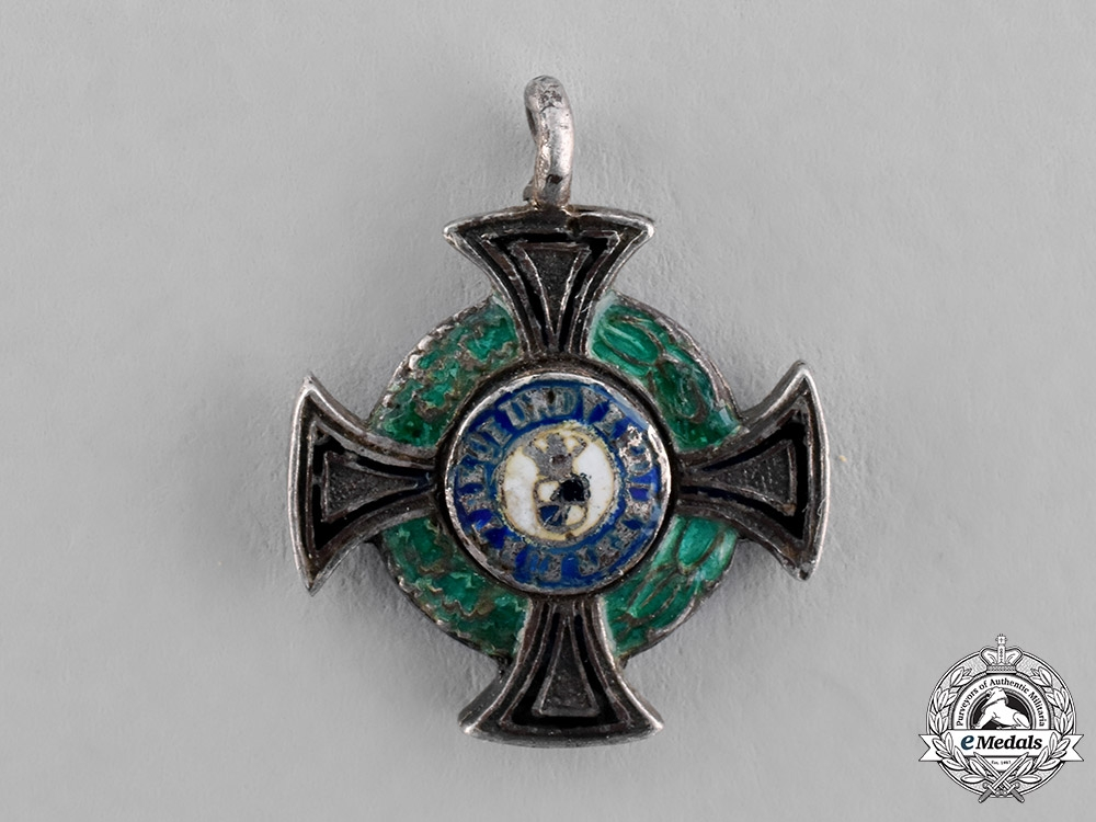 eMedals-Hohenzollern, State. A Miniature House Order, Honour Cross III Class