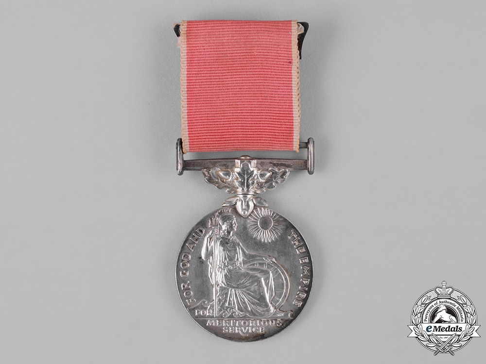 eMedals-United Kingdom. An Empire Gallantry Medal, to John E. Tanner