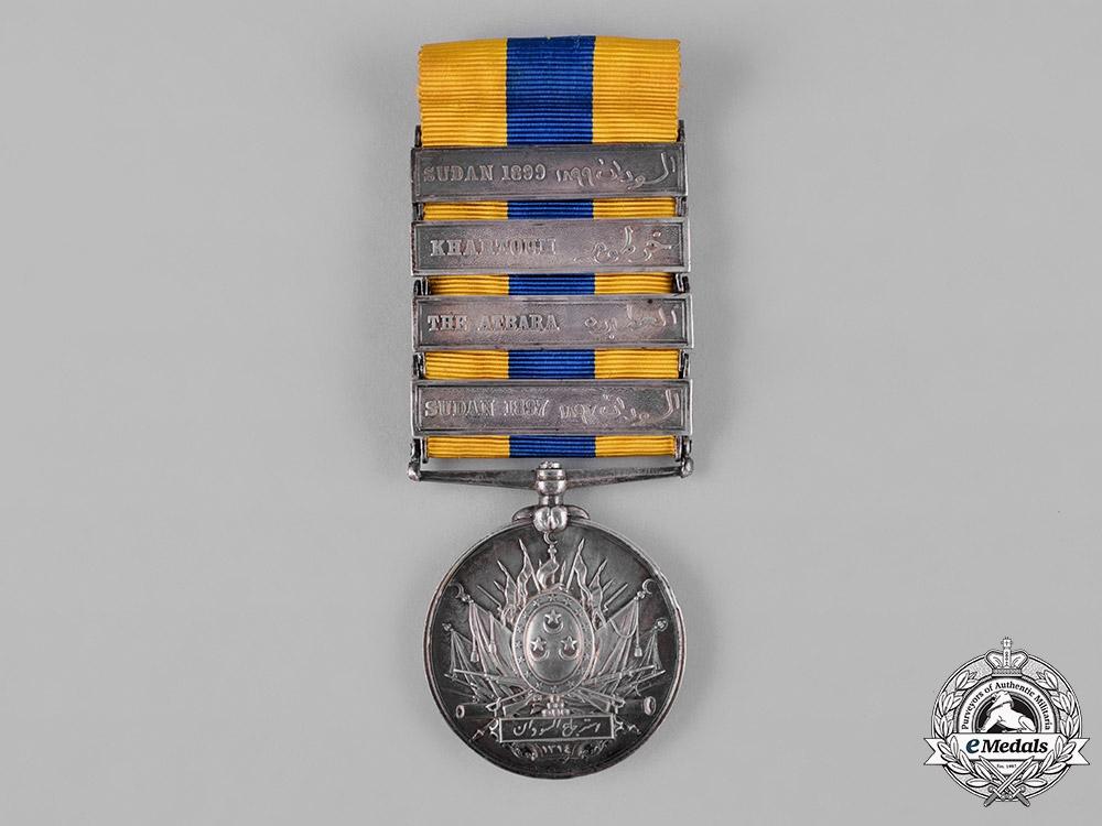 eMedals-United Kingdom. A Khedive's Sudan Medal 1896-1908, Arabic Named