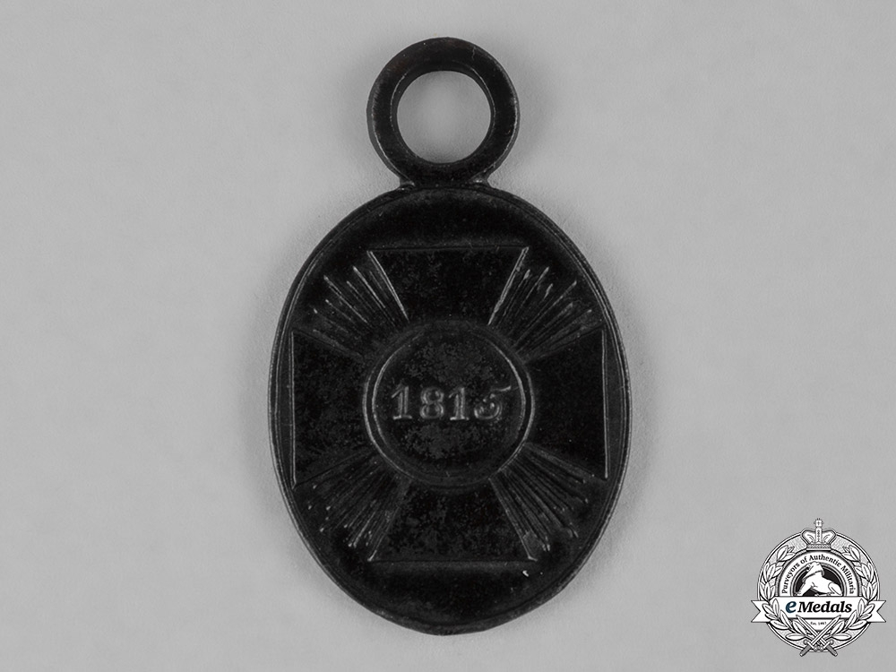 eMedals-Prussia, Imperial. A Waterloo Campaign Medal for Non-Combatants