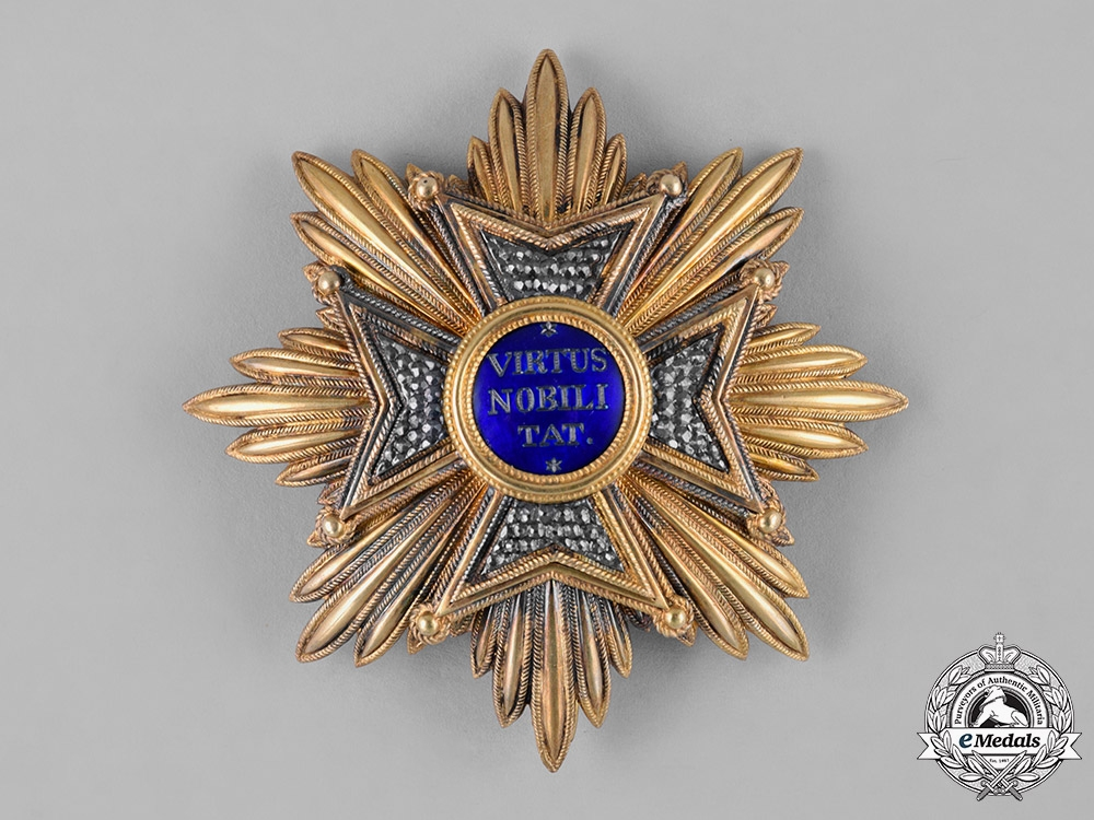 eMedals-Netherlands, Kingdom. An Order of the Lion, Knight Grand Cross Star, c.1890