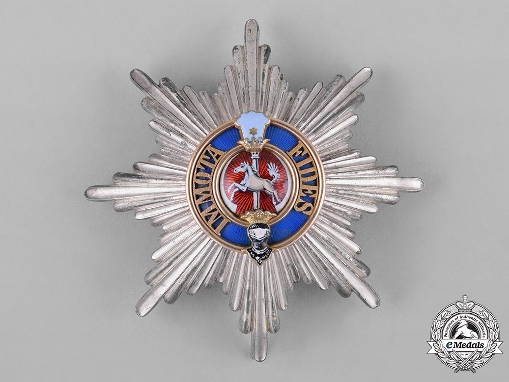 eMedals-Braunschweig, Dukedom. An Order of Henry the Lion, I Class Star, by Hermann Jürgens, c.1918