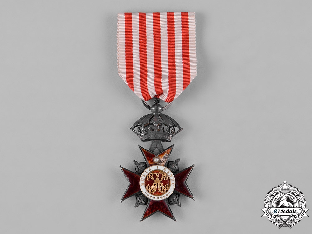 eMedals-Hawai'i Kingdom. A Royal Order of Kapiolani, Companion's Badge, c.1890