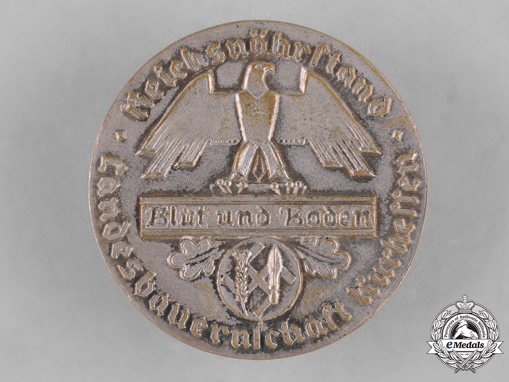 eMedals-Germany, Third Reich. A Reichsnährstand Kurhessen 25 Years Faithful Service Decoration