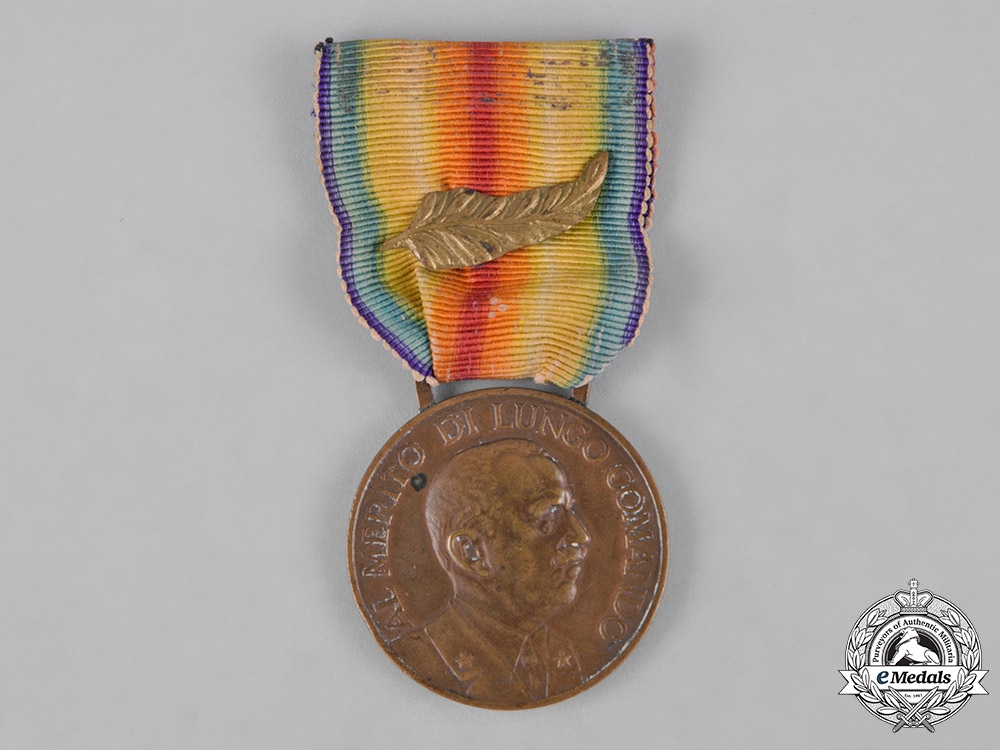 eMedals-Italy, Kingdom. A Medal of Merit for Long Service in the Cavalry of the Royal Army, III Class, Bronze Grade