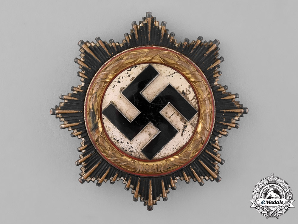 eMedals-Germany, Wehrmacht. A German Cross in Gold, by Otto Klein & Co.