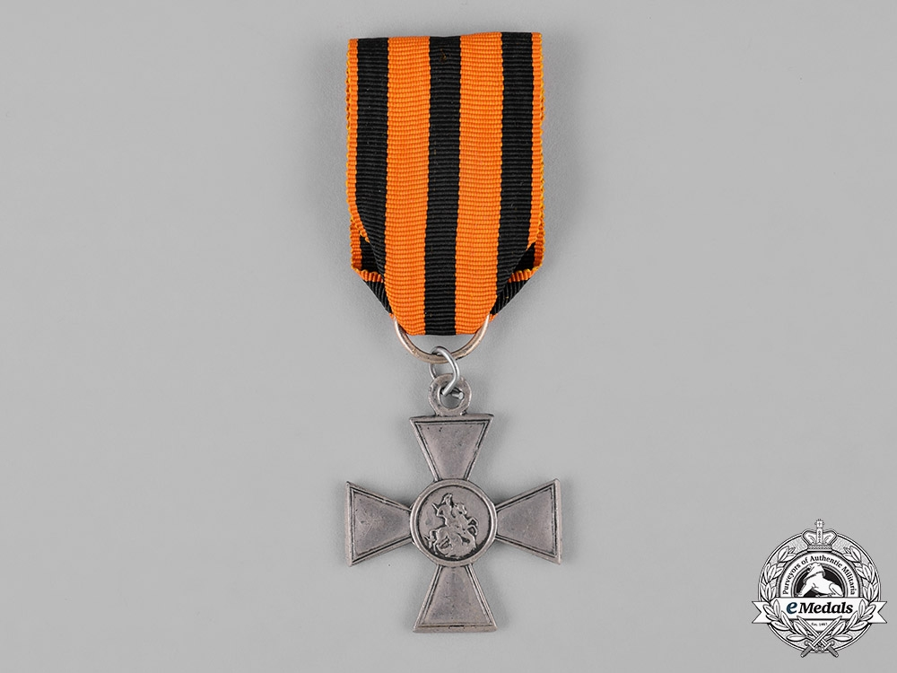 eMedals-Russian Imperial. A Saint George Cross, IV Class, c.1910