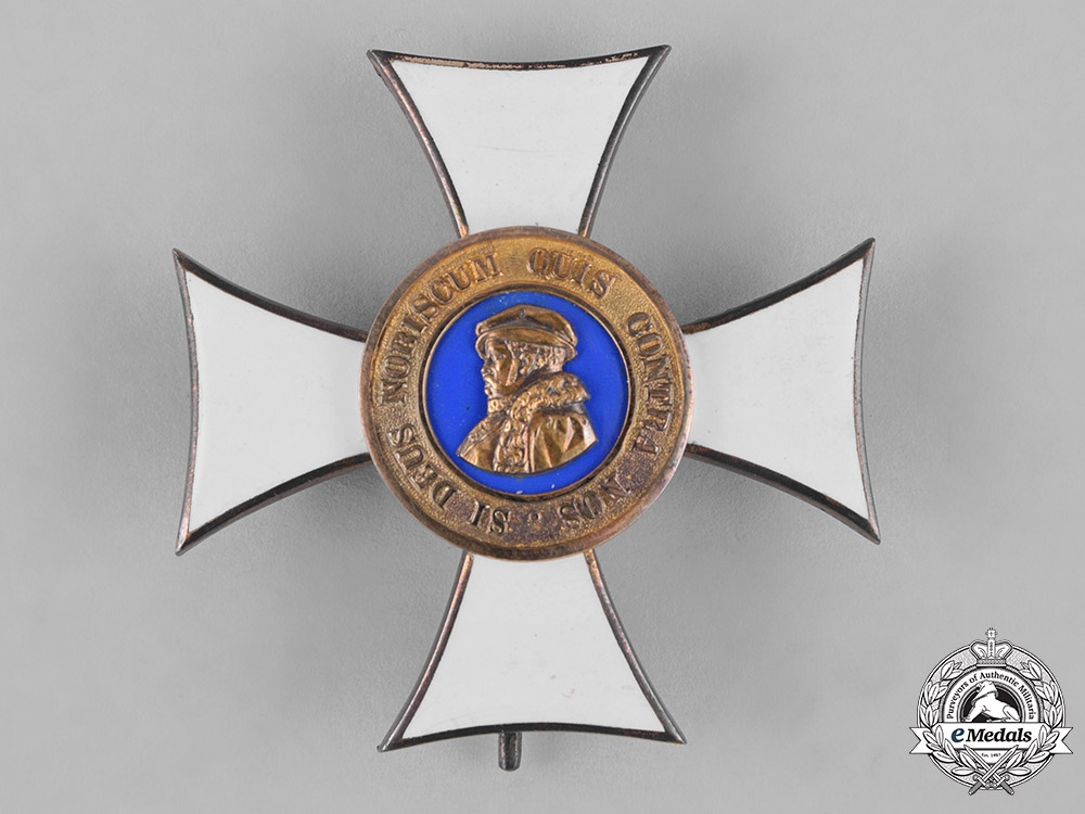 eMedals-Hesse-Darmstadt, Landgraviate. An Order of Philip the Magnanimous, Honour Cross, c.1910