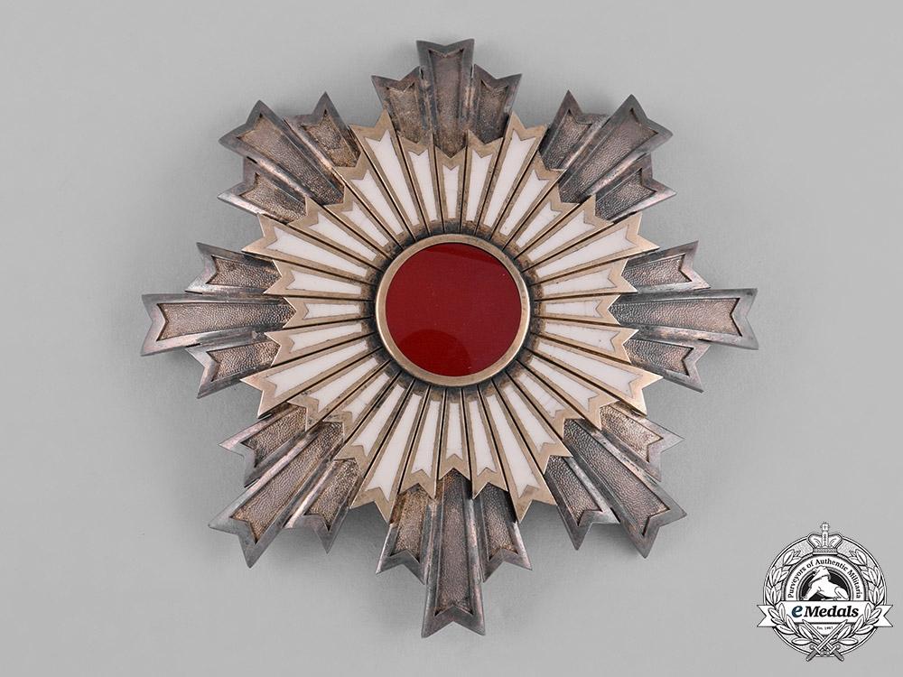 eMedals-Japan, Empire. An Order of the Rising Sun, I Class Grand Cordon Star, c.1910