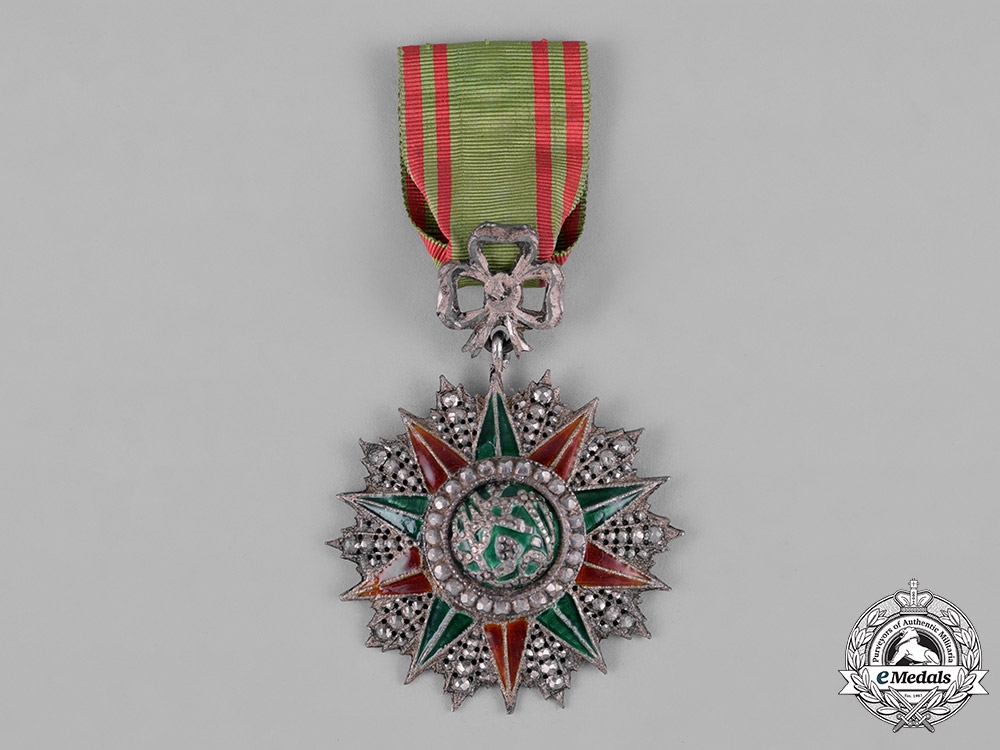 eMedals-Tunisia, Ottoman Protectorate. An Order of Glory, V Class Knight, c.1875
