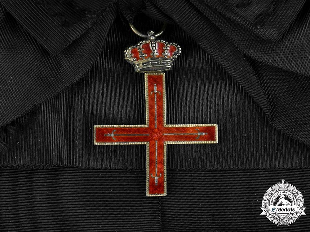 eMedals-Spain, Franco Period. A Royal Military Estamento of the Principality of Gerona, Grand Cross c.1950