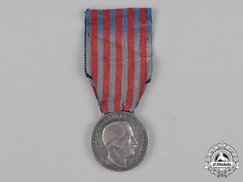 eMedals-Italy, Kingdom. A Medal for the Libyan Campaigns, c.1914