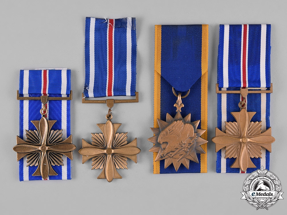 eMedals-United States. A Lot of Four Air Force Awards
