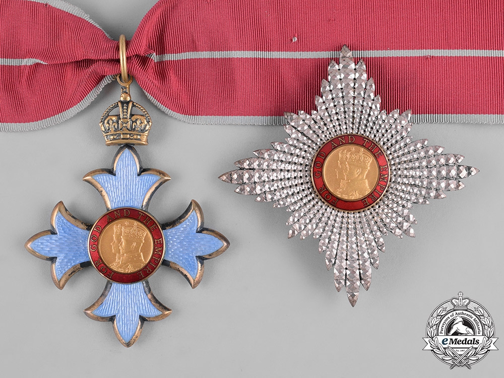 eMedals-United Kingdom. A Most Excellent Order of the British Empire, Knights Commander (KBE), c.1945