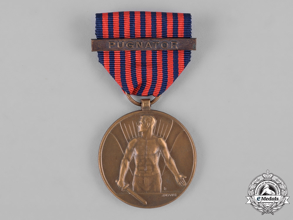 eMedals-Belgium, Kingdom. A Medal of the Volunteer, Pugnator, c.1946