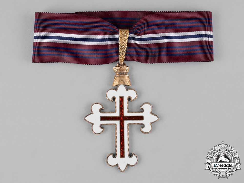 eMedals-Portugal, Republic. An Order of Military Merit, II Class c.1960