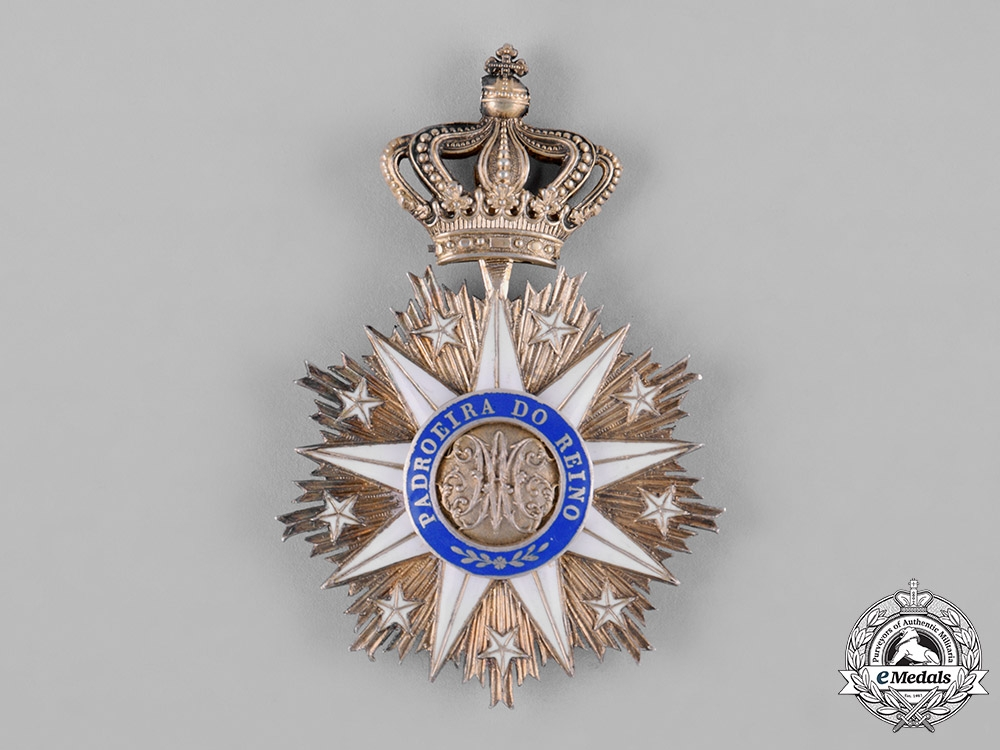 eMedals-Portugal, Kingdom. An Order of Vila Viçosa, II Class Commander, c.1940