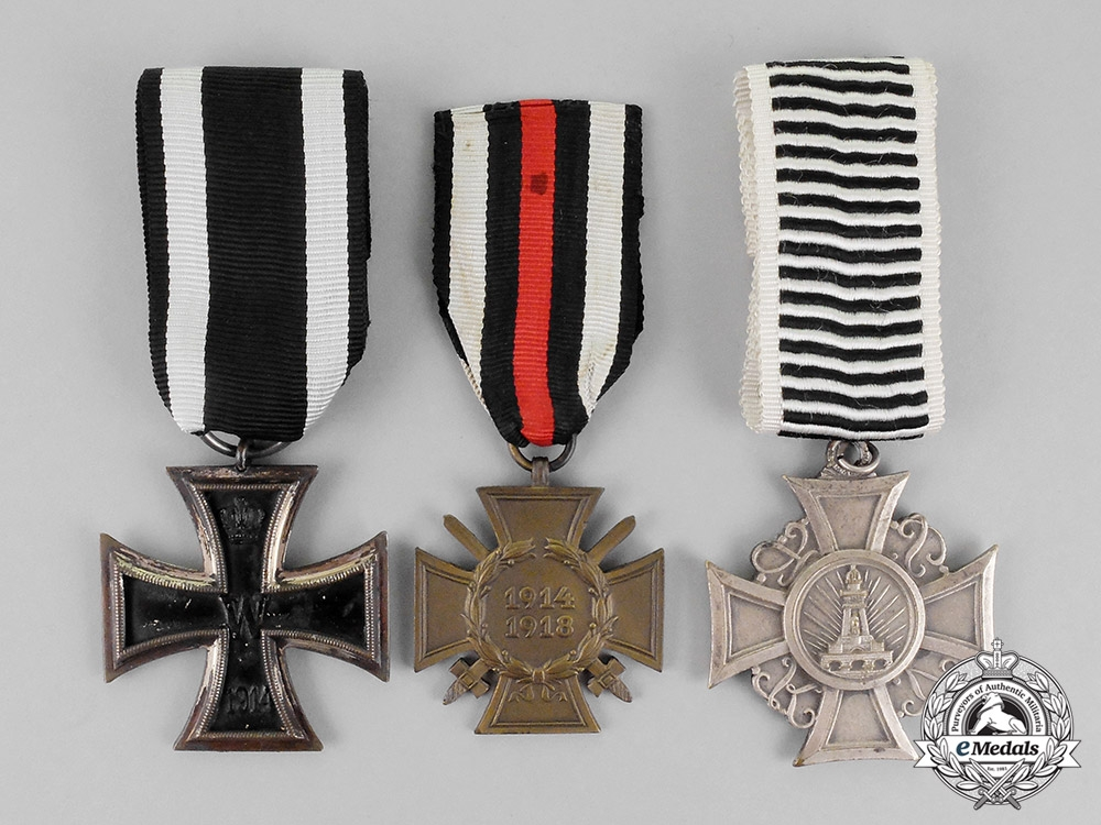 eMedals- Germany, Imperial. Three First War and Weimar Period Medals and Awards