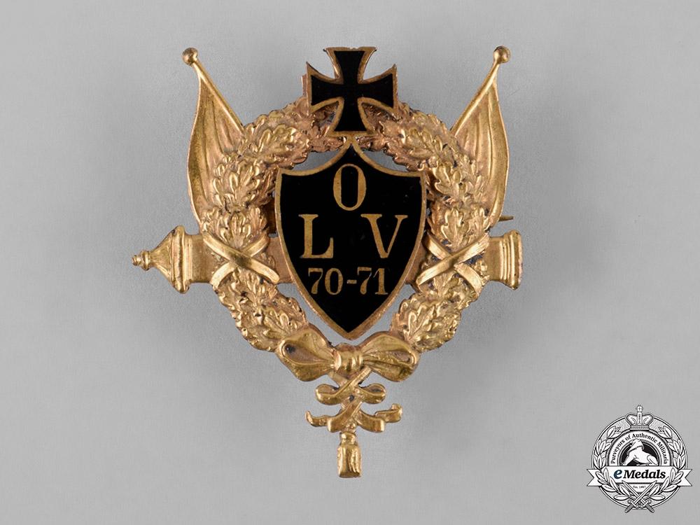 eMedals-Germany, Imperial. A Franco-Prussian War Commemorative Badge