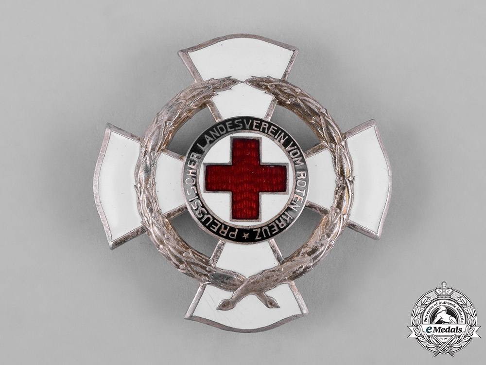 eMedals-Germany, DRK. A Prussian Red Cross 25-Year Meritorious Service Cross, by Godet