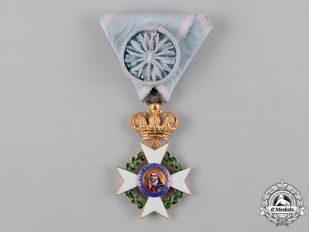 eMedals-Greece, Kingdom. An Order of the Redeemer in Gold, IV Class Officer, c.1940
