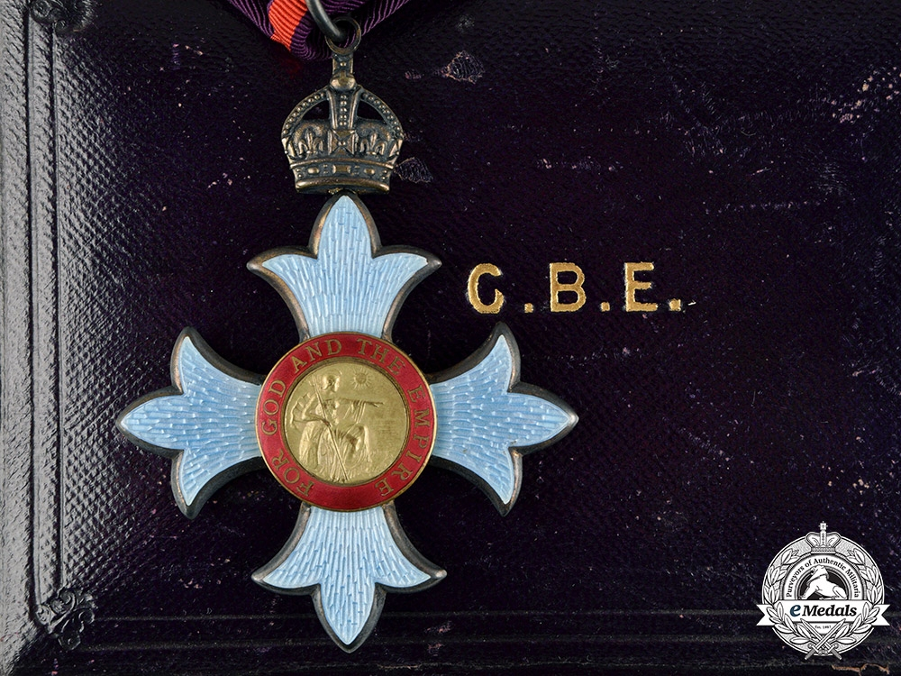 eMedals-United Kingdom. A Most Excellent Order of The British Empire, Commander, Military Division (CBE) Badge, c.1920