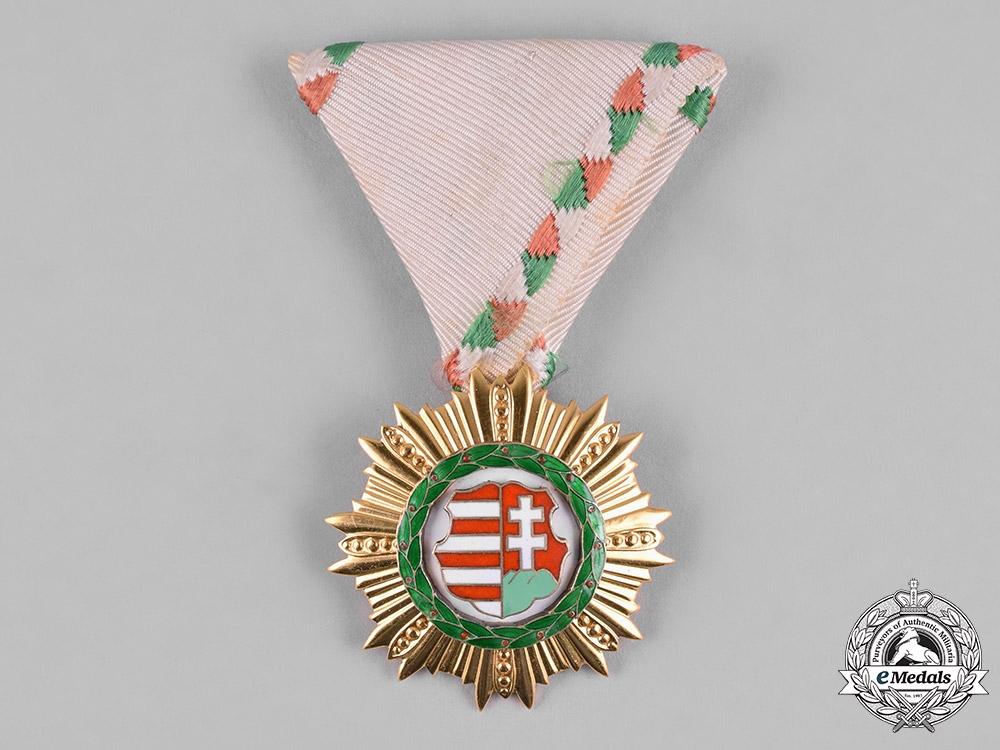 eMedals-Hungary, Republic. An Order of Kossuth, III Class, c.1948