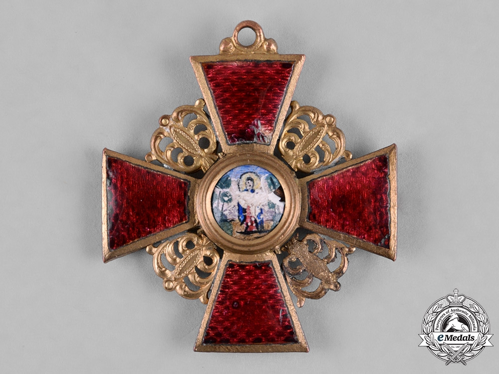 eMedals-Russia, Imperial. An Order of St. Anne, III Class, c.1917