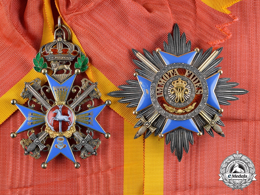 eMedals-Braunschweig, Dukedom. A Haus Order of Henry the Lion, Grand Cross with Swords, by Hermann Jürgens, c.1914
