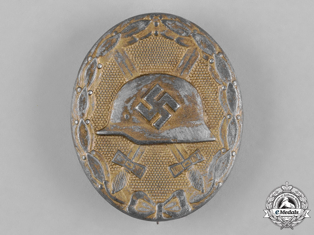 eMedals-Germany, Wehrmacht. A Wound Badge, Gold Grade