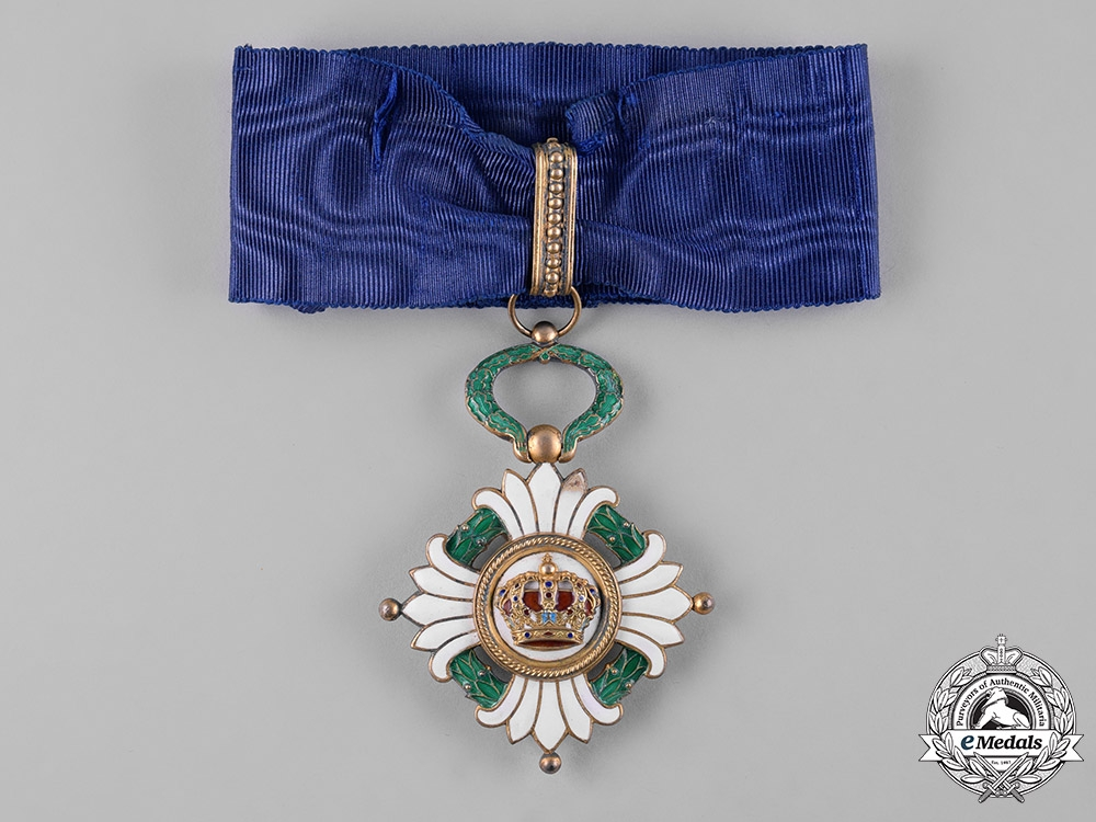 eMedals-Yugoslavia, Kingdom. An Order of the Crown, III Class Commander, c.1940