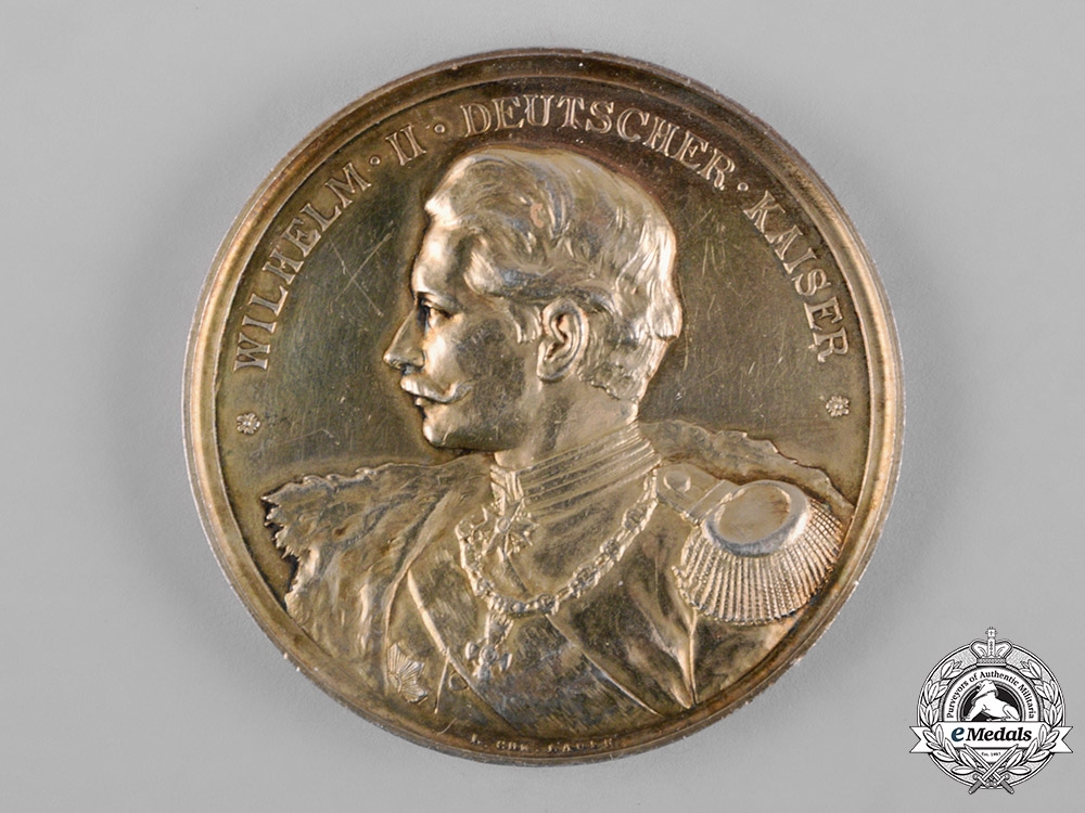 eMedals-Germany, Imperial. An 1893 Lothringen (Lorraine) District Agricultural Association Medallion