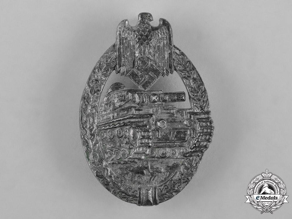 eMedals-Germany, Heer. A Panzer Assault Badge, Silver Grade, by Rudolf Richter