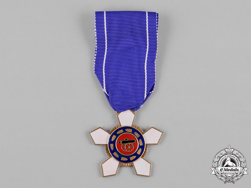 "eMedals-Korea, Republic of South Korea. An Order of Military Merit, ""Inheon"" V Class Breast Badge"
