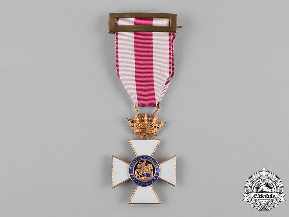 eMedals-Spain, Franco Period. A Military Order of St. Hermenegildo, Gold Cross, c.1950