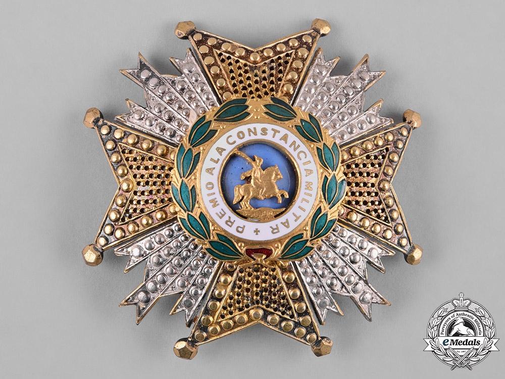 eMedals-Spain, Franco Period. A Military Order of St. Hermenegildo, Commander's Star, c.1950
