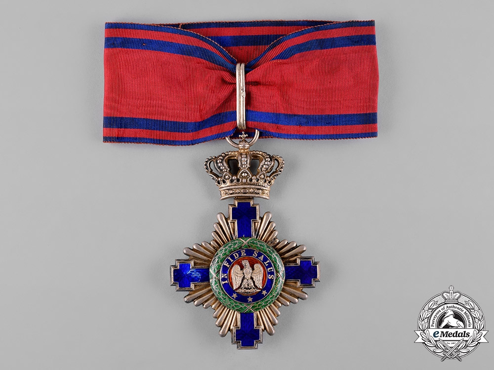 eMedals-Romania, Kingdom. An Order of the Star, Civil Division, Commander, c.1925