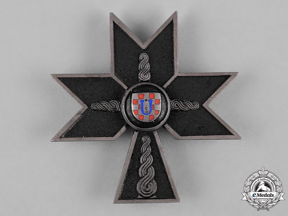 eMedals-Croatia, Republic. An Order of the Iron Trefoil, II Class, c.1942