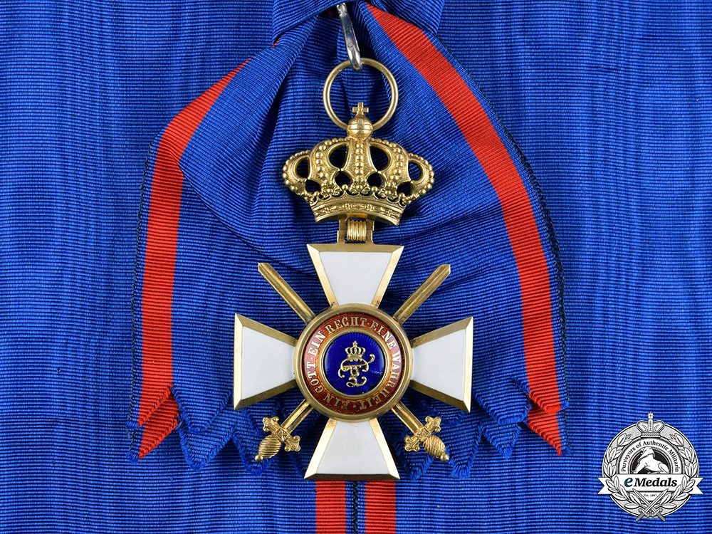 eMedals-Oldenburg, Grand Duchy. A House & Merit Order of Peter Friedrich Ludwig, Grand Cross with Swords, c.1916