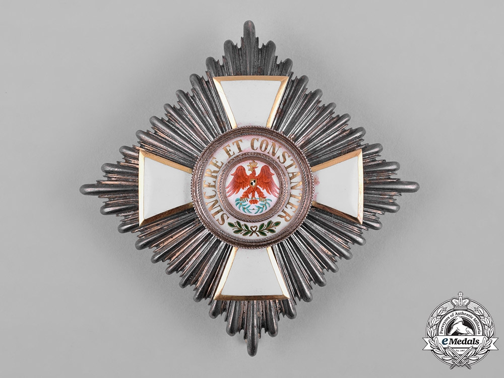eMedals-Prussia, Kingdom. An Order of the Red Eagle, II Class Star, by Hersteller Wagner & Söhne, c.1900