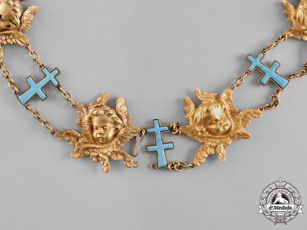 eMedals-Sweden, Kingdom. A Most Noble Order of the Seraphim, Knight's Collar, c.1930