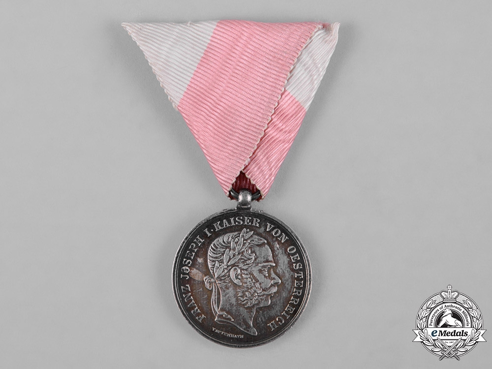 eMedals-Austria, Imperial. A Medal for the Defence of Tirol 1866, by Josef Tautenhayn