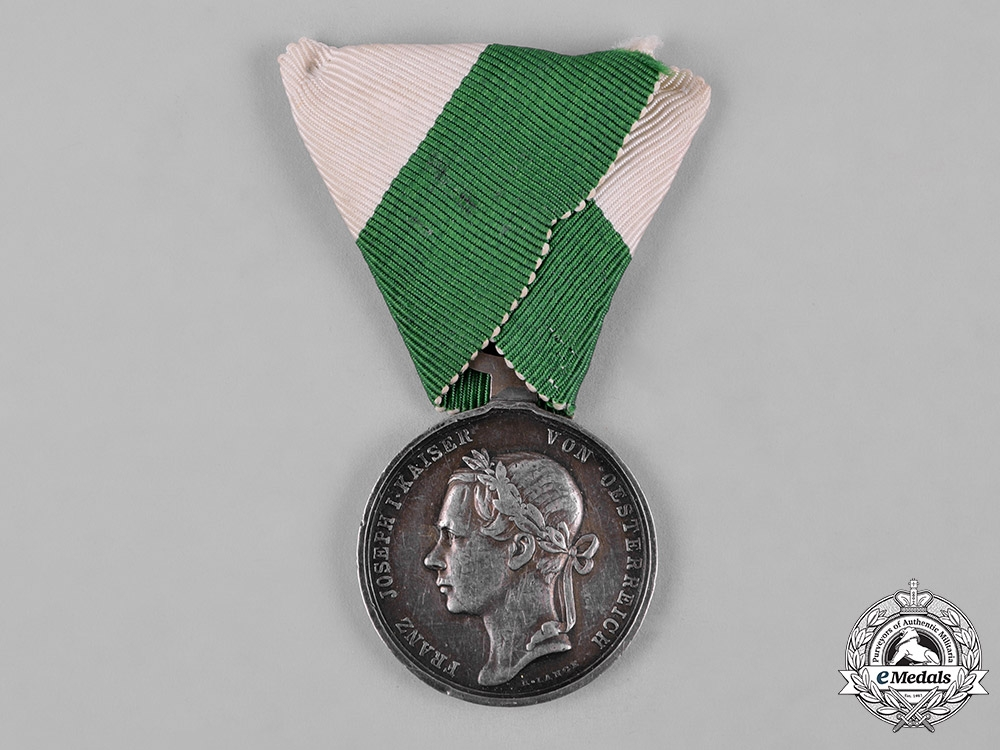 eMedals-Austria, Imperial. A Medal for the Defence of Tirol 1848, by Lange