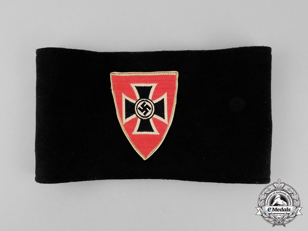 eMedals-Germany. A National Socialist Veterans Organization Membership Armband