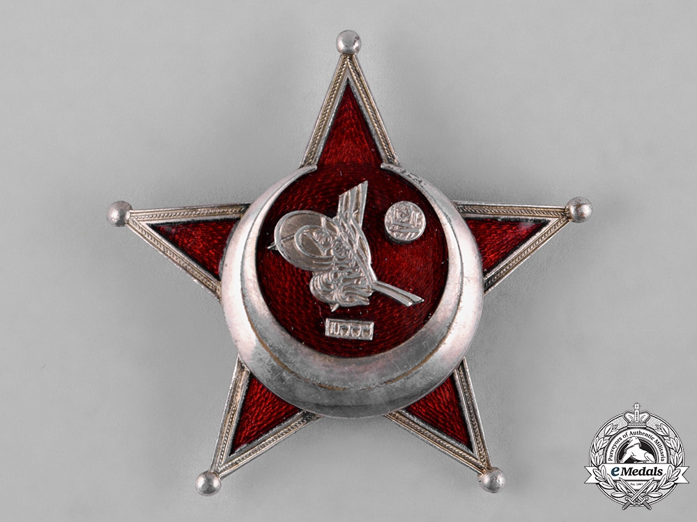 eMedals-Turkey, Ottoman Empire. A First War War Medal, Galipoli Star, German Made