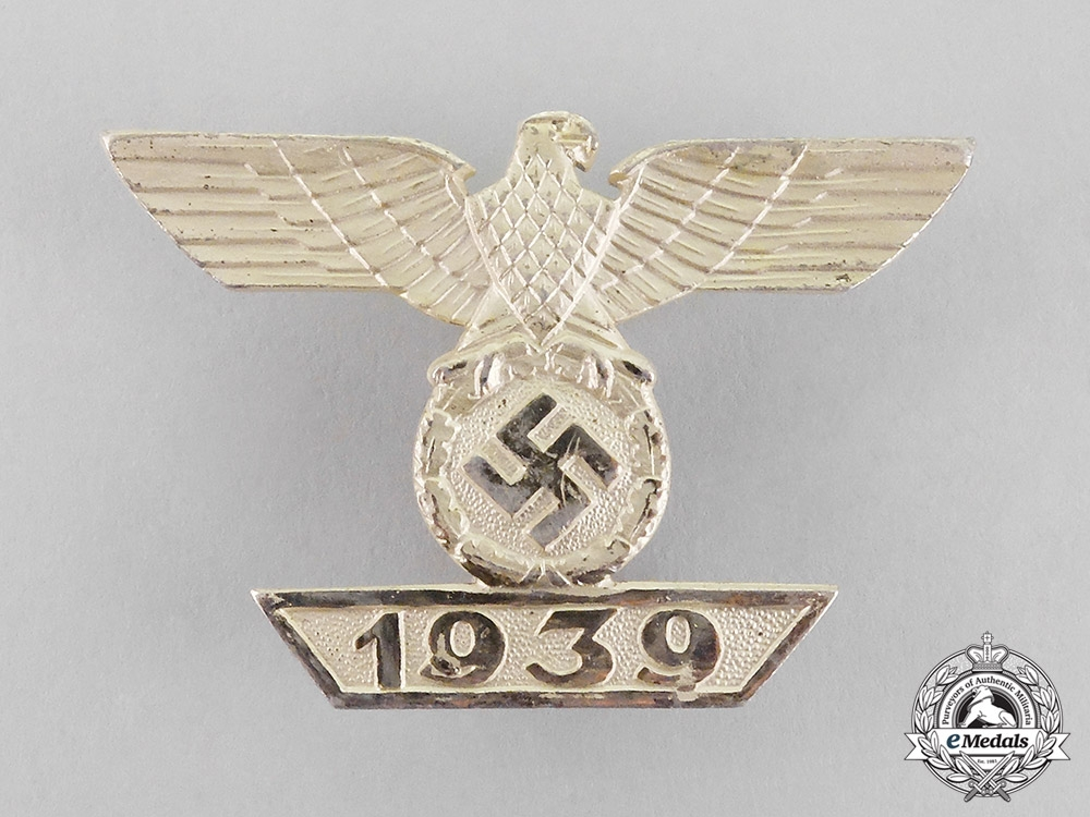 eMedals-Germany. A Clasp to the Iron Cross 1939 First Class by Wilhelm Deumer; Second Type