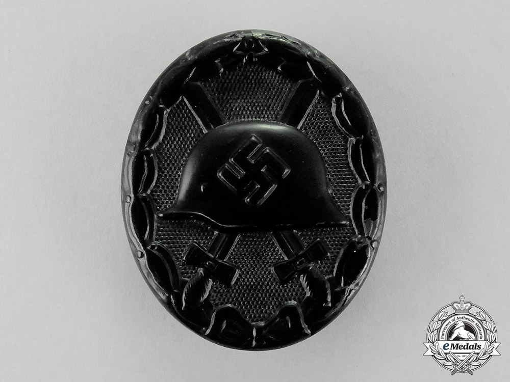 eMedals-  Germany. A Black Grade Wound Badge by Carl Wild of Hamburg