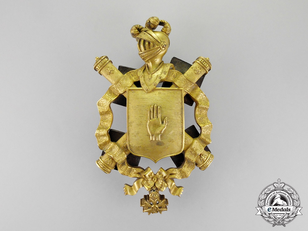 eMedals-France, Napoleonic Kingdom. A Field Marshal's Carriage Shield