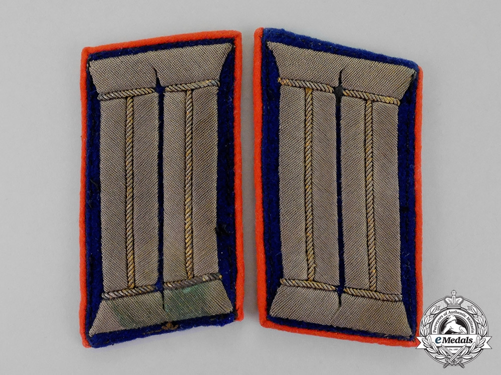 eMedals-Germany, Imperial. A Set of First War Period General-Doctor (Generazt) Collar Tabs